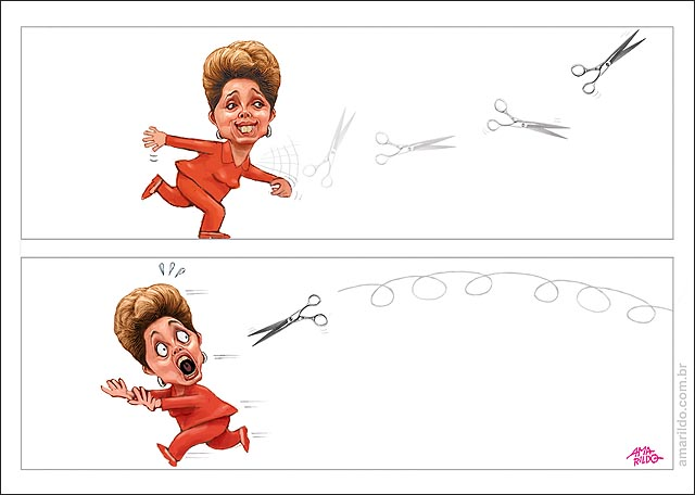 Dilma Ajuste fiscal tesoura boomerangue volta