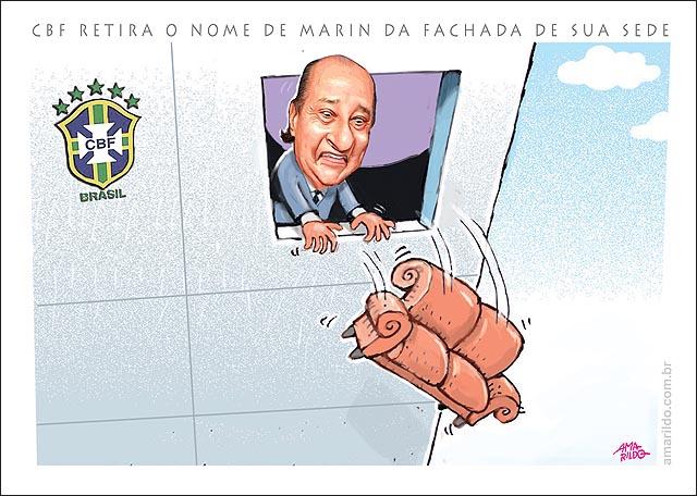 FiFA CBF tira o nome da Marim da fachada de sua sede presio Jogam sofa pela janela.psd