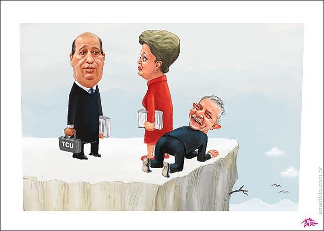 Dilma Lula TCU Cama de Gato abismo pedalada fiacal b virado