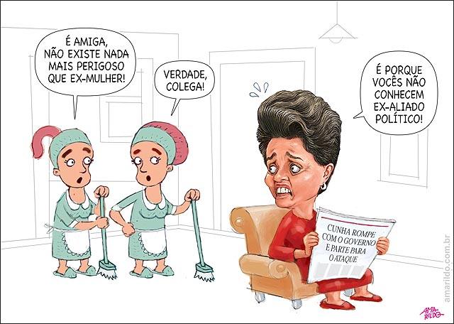 Dilma Cunha Ex-aliado pior que ex-mulher empregadas jornal