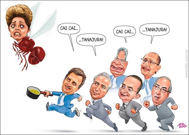 Dilma cai cai tanajura aecio temer cunha renan fhc
