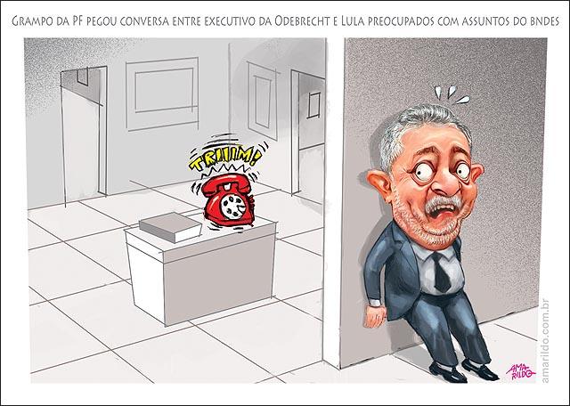 Lula escondido COM MEDO recebe telefone TOCANDO