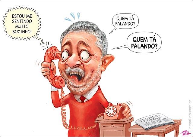 Dirceu preso telefona p Lula medo se sentido solitario petrolao cadeia PT Jornal Mesa