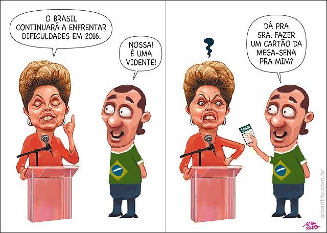 Dima discurso brasil dificuldades 2016 vidente fazer cartao da megasena