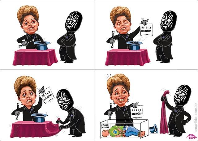 Dilma Imposto Magica aparece 11 bi mr m explica dinheiro do bolso do povo