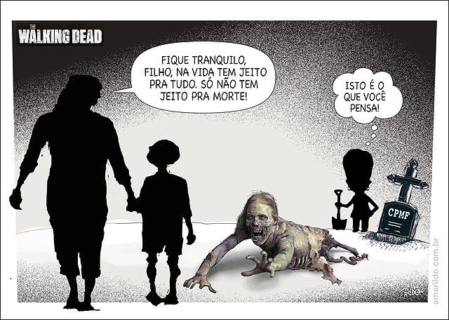 CPMF walking dead SO NAO TEM JEITO PRA MORTE TUMOLO TERROR