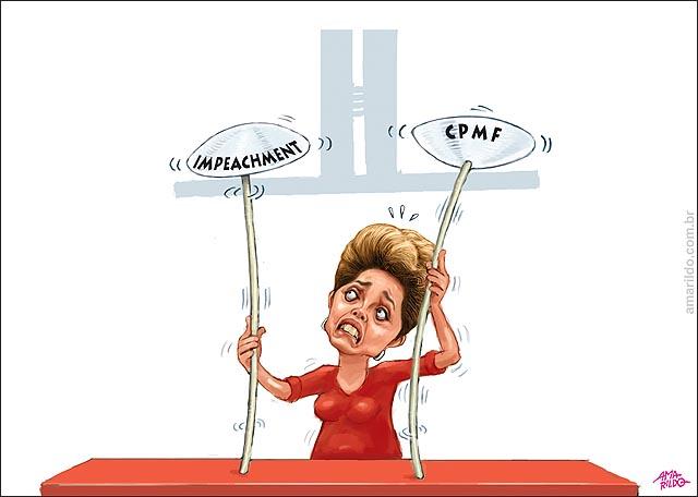 Dilma Equilibra Prato CPMF Impeachment Congresso