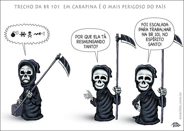 Br 101 es carapina trachao mais perigoso do brasil morte rindo morte raiva vai trabalhar la