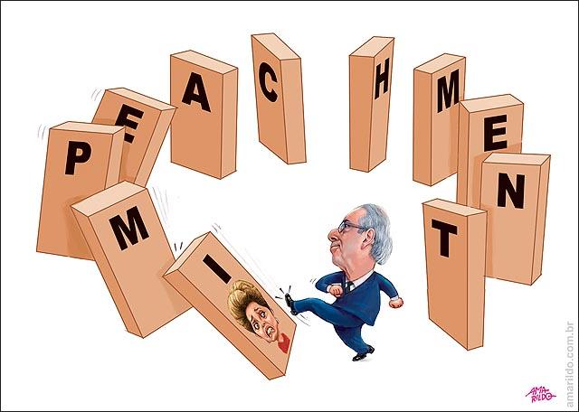 Dilma Cunha chuta Domino impeachment
