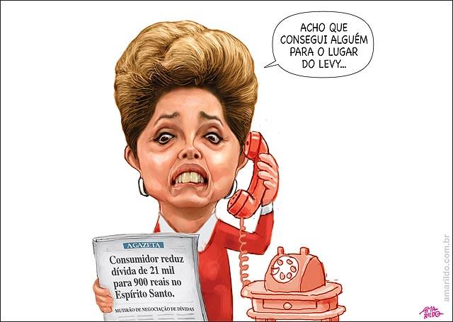 Dilma Levy Consumidor reduz divida de 21 mil para 900 mutirao procon ES telefone jornal