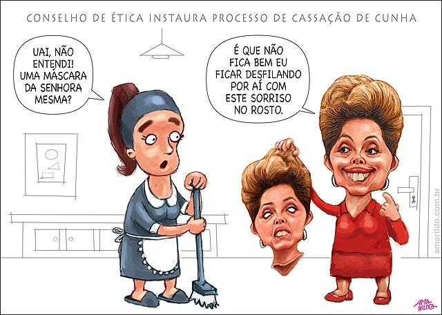 CUNHA CASSACAO DILMA MASCARA DELA MESMA SERIA PARA COBRIR SORRISO