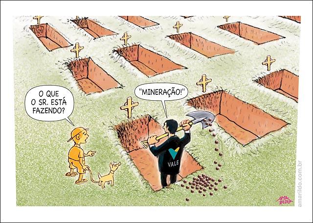Lama Barragem Rio Doce Coveiro Fazendo Mineracao Cova sepultura Tumulo Mortos Peixes Casas