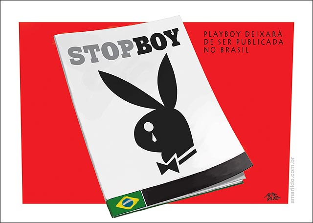 Play boy para de publicar no Brasil StopBoy revista mulheres nuas