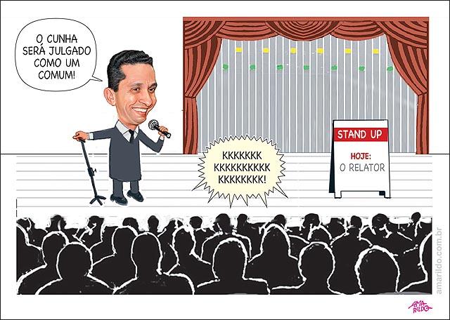 Cunha Relator Fausto Pinato Cassacao Conselho de etica StandUp comedy