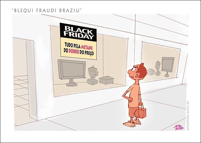 BLACK FRIDAY BRASIL Fraude TUDO PELA metade do dobro do preco loja tv eletrodomestico