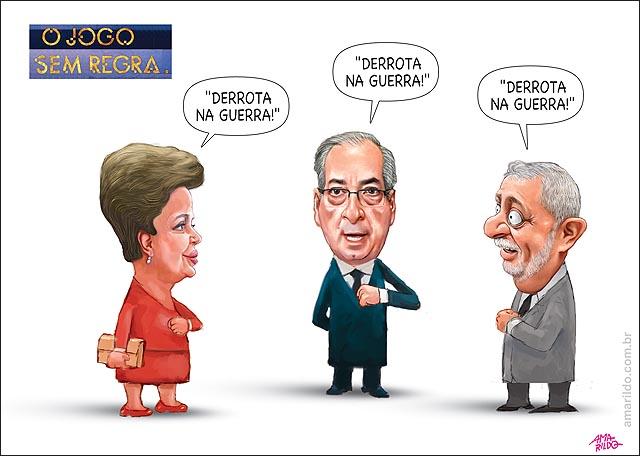 Dilma Lula Cunha Faccao Vitoria na Gguerra