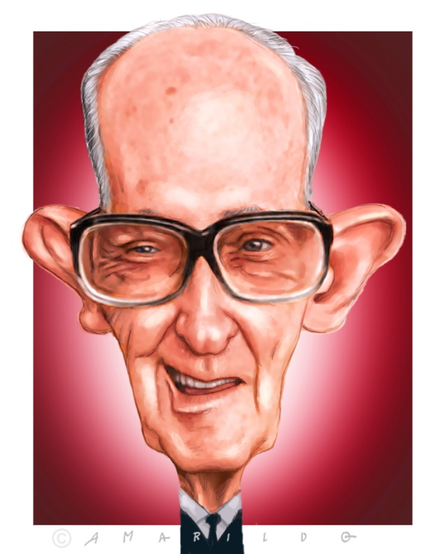 Carlos Drummond de Andrade - Caricatura 2 copy