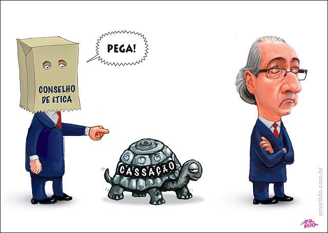 Cassacao Cunha Desdem Conselho de Etica tartaruga Pega