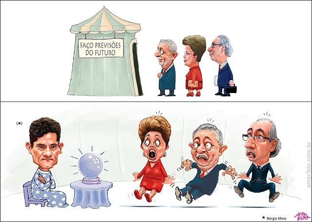 Previsao do futuro tenda sergio moro Lula Cunha Dilma Temer susto.psd