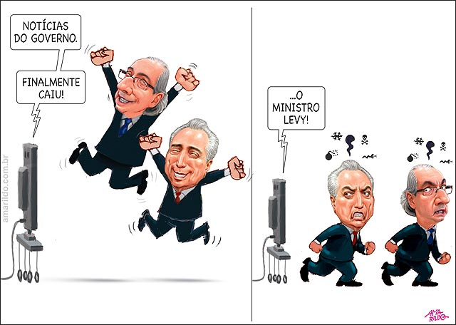 Cai o ministro Levi Cunha e Temer vibram depois tristes raiva tv
