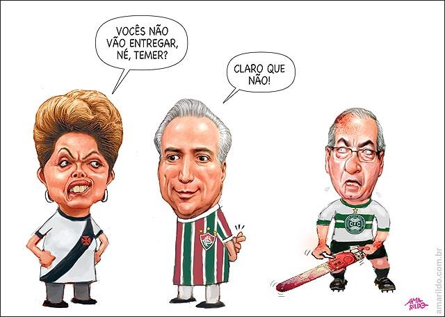 Dilma Vasco temEr Flu Cunha coritiba flu entregar o jogo
