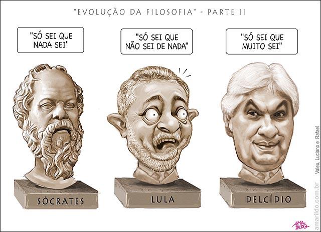 So Sei Que Nada Sei Frase De Socrates: BLOG DO AMARILDO . CHARGE CARICATURA