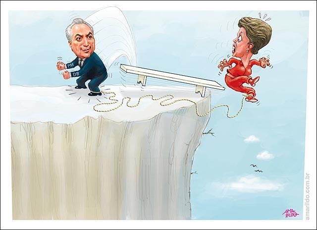 Dilma abismo Temer PMDB levanta do canco Dilma cai impeachment