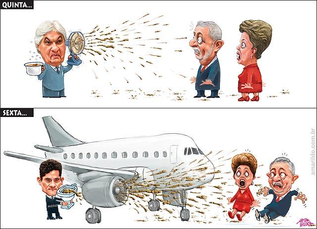 Delcidio do Amaral Delacao premiada Lula Dilma Merda no ventilador agua de camburi PF Lula depoimento Aviao turbina