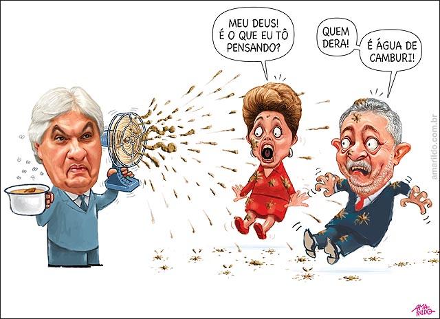 Delcidio do Amaral Delacao premiada Lula Dilma Merda no ventilador agua de camburi b