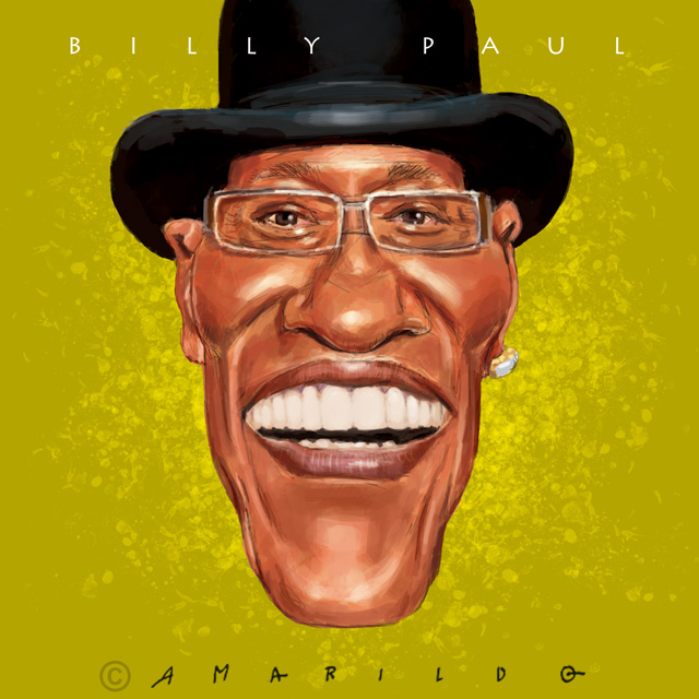 Billy Paul - Caricatura
