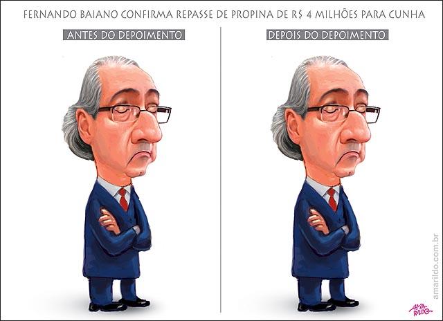 Fernando Baiano Confirma propina para cunha nao muda nada