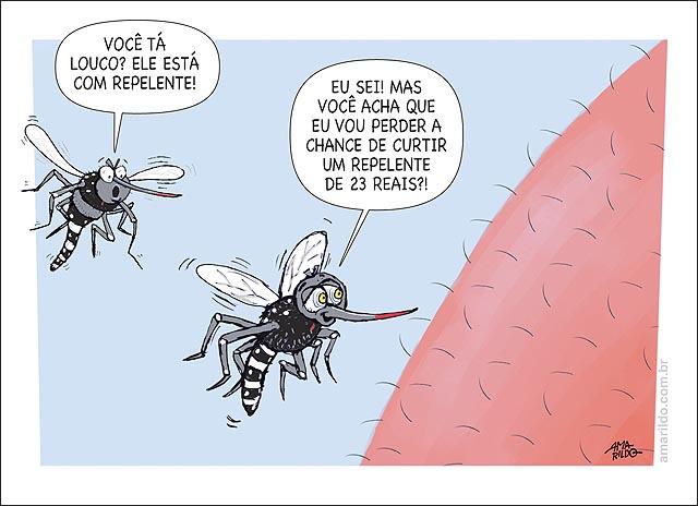 Mosquitos Dengue Repelente caro 23 reais perna pelos close curtir aedes aegipty