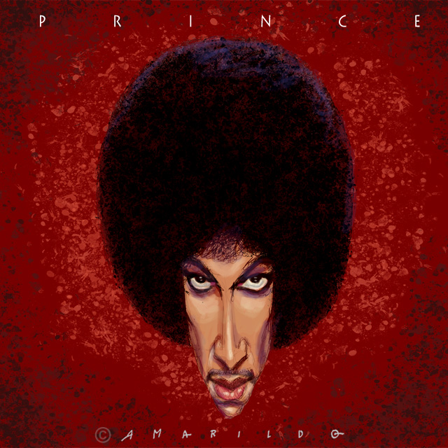 Prince - Caricatura