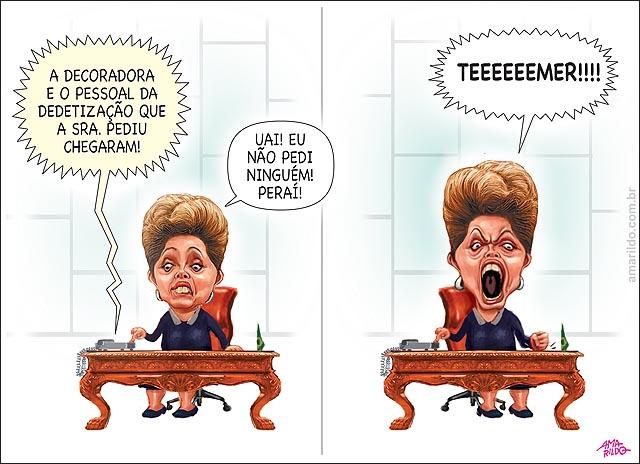 Dilma dedetizacao e decoradora mesa gabinete presidente Temer.psd