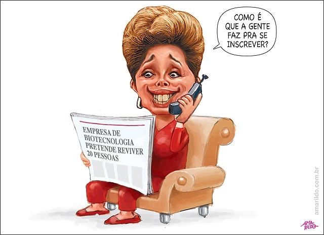 Dilma telefone jornal se inscreve empresa vai ressucitar pessoas