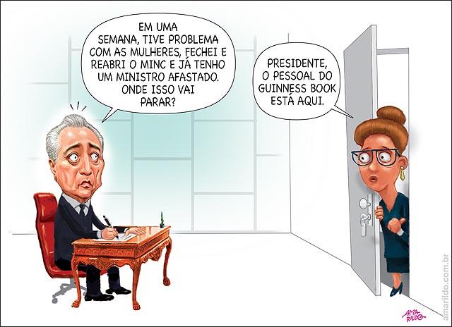 Temer guines book mulheres ministerio da cultura romero juca ministrio do planejamento gabinete secretaria