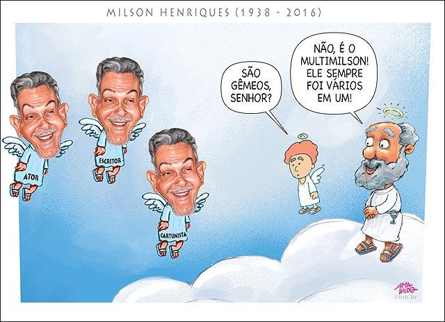 Morre Milson Henriques Ceu anjo sao pedro multimilson