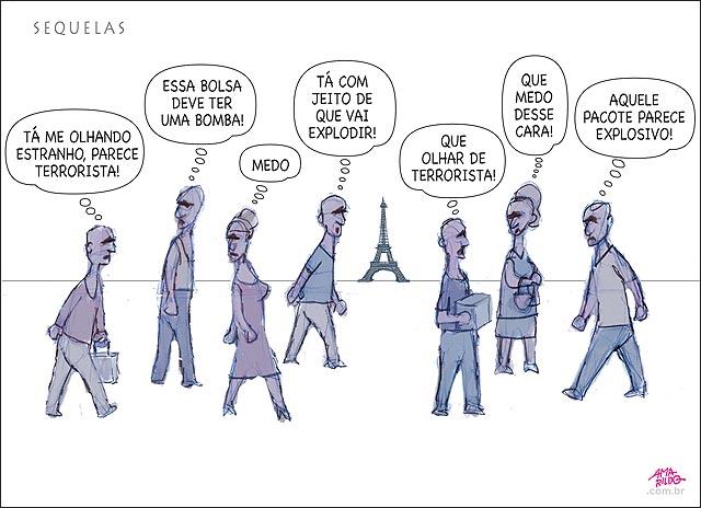 Terrorismo sequelas populacao um com medo do outro povo calcada assustados nice caminhao franca mortes