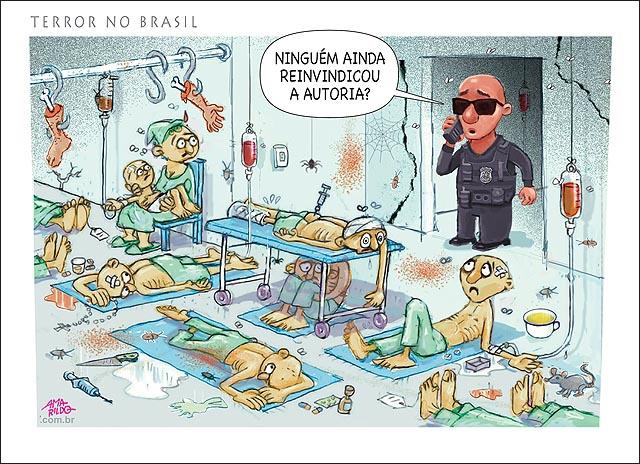 Atentado terrorista no brasil hospital saude sus B