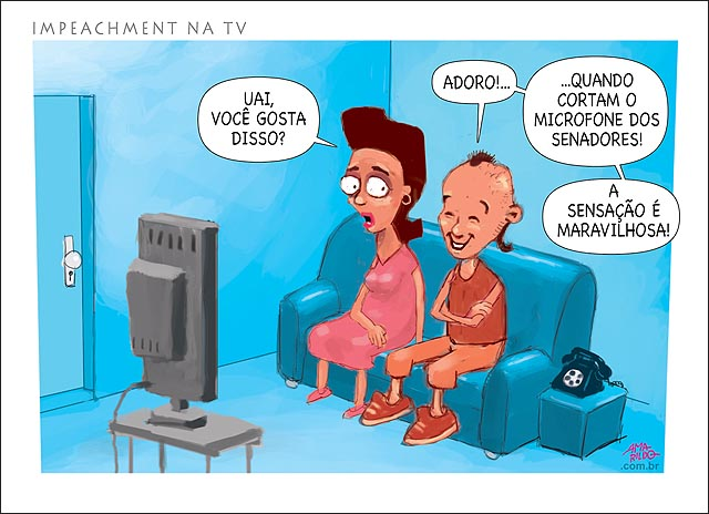 Impeachment dilma na tv parte mais gostou microfone cortado silencio congresso senado