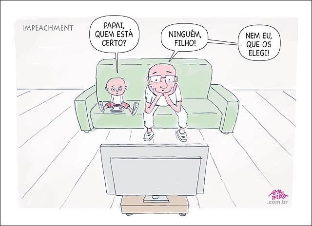 Pai filho tv sofa impeachment quem esta certo ninguem nem eu que elegi senadores e presidente