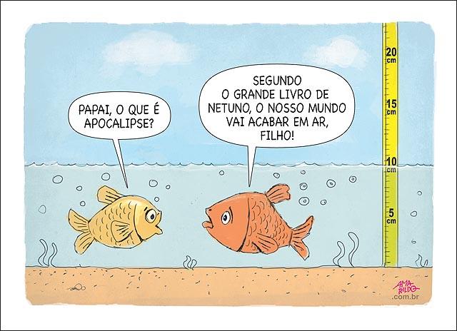 Peixe seca rios papai apocalipse livro netuno previsao fim do mundo em ar