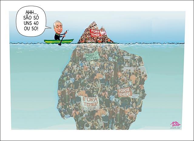 Fora temer iceberg protestos sao paolo cem mil temer 40 gatos pingados