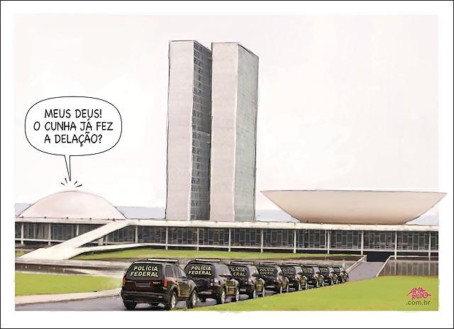 CAMBURAO Poloicia federal no cogresso prende policia legislativa do senado senadores mede de delacao de cunha camara