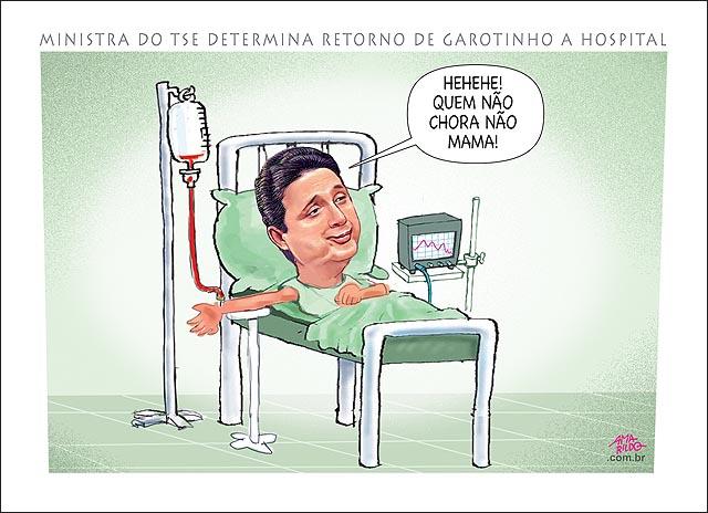 Garotinho Cama Hospital Ministra do TSE determina retorno de garotinho a hopital