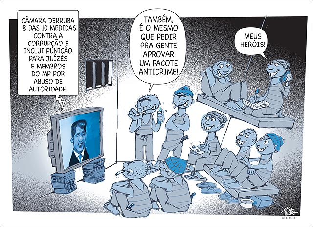 Camara muda pacote de combate a corrupcao e iclui punicao para juizes e ministerio publico cadeia presos gostam pacote anticrime.psd