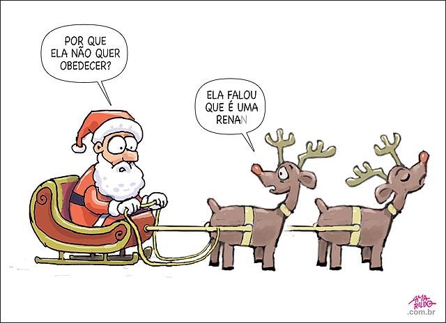 Papai noel rena empacada renan natal senado stf ordem judicial