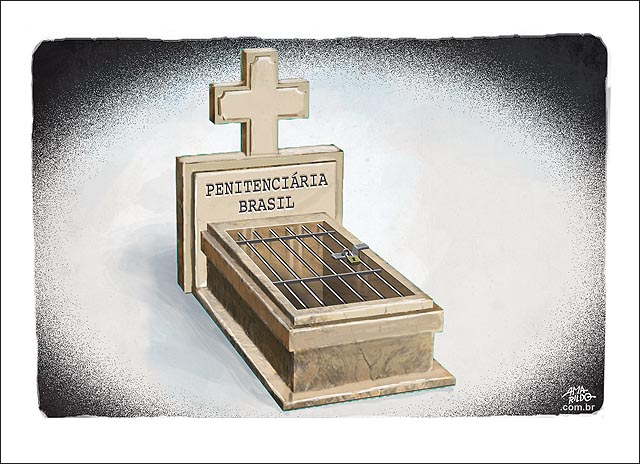 Tumulo prisao brasileira penitenciaria brasil cadeia grade cela massacre amazonas presos