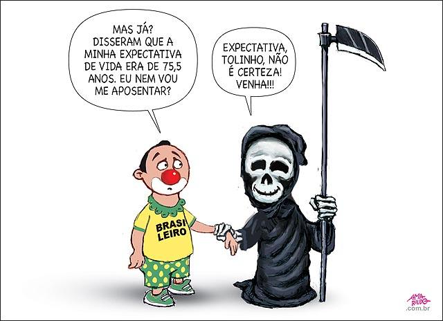 Morte levando brasileiro expectativa de vida 75 anos nao e certeza vamos