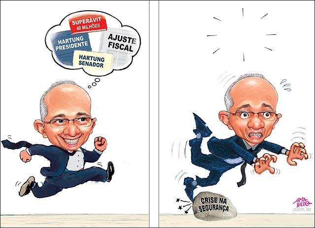 Hartung tropeca correndo seguranca publica crise greve PM B